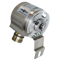 Half Hollow Shaft Incremental Encoder