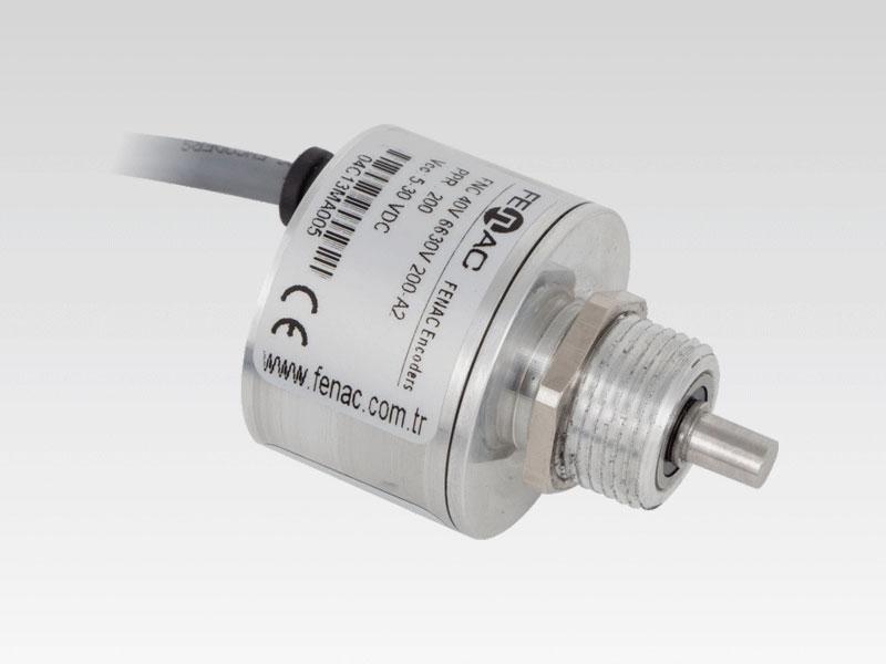 1024PPR 5-30V in//Out 6 Channel Servo Flange 2m Cable Fenac FNC 50S 6630V1024-R2 Incremental Encoder 50mm Body Diameter 8mm Solid Shaft